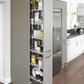 Canterbury olive & pebble pull out larder unit rgb