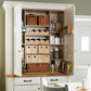 Hampshire antique white countertop pantry rgb